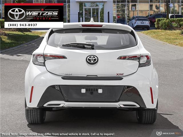 2019 Toyota Corolla Hatchback CVT (Stk: 67359) in Vaughan - Image 5 of 27