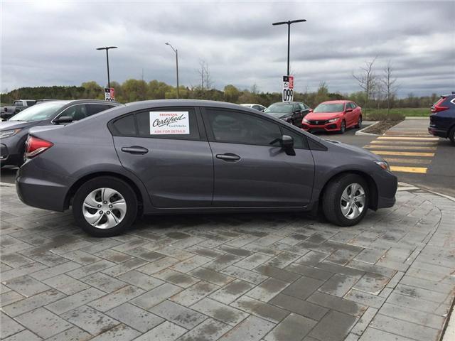 2015 Honda Civic LX (Stk: b0183) in Ottawa - Image 1 of 12