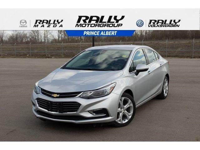 2018 Chevrolet Cruze Premier Auto (Stk: V827) in Prince Albert - Image 1 of 11