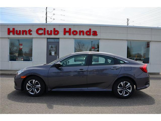 2016 Honda Civic LX (Stk: 7066A) in Gloucester - Image 1 of 23