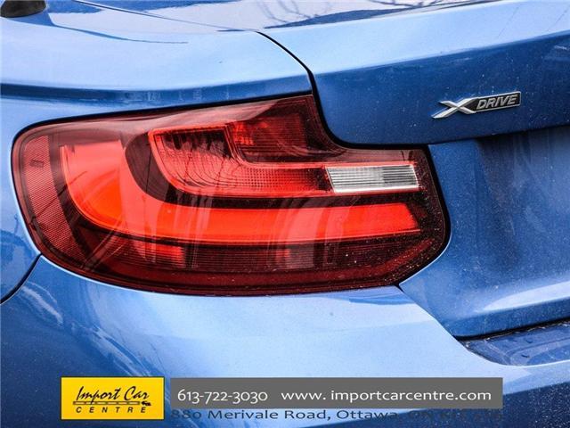 2016 BMW 228i xDrive (Stk: 325147) in Ottawa - Image 11 of 30