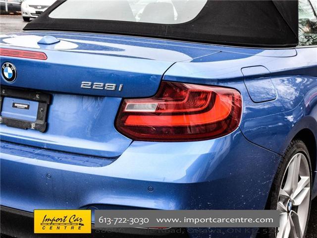 2016 BMW 228i xDrive (Stk: 325147) in Ottawa - Image 12 of 30