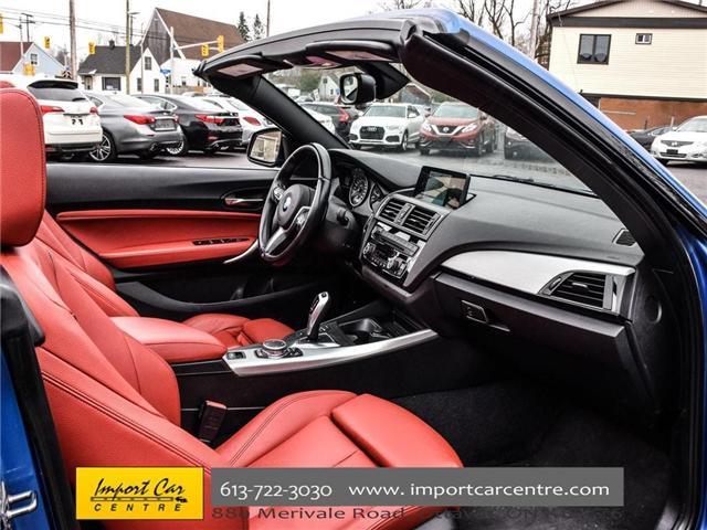 2016 BMW 228i xDrive (Stk: 325147) in Ottawa - Image 20 of 30