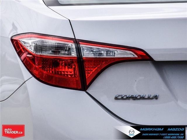 2014 Toyota Corolla  (Stk: Q190451A) in Markham - Image 5 of 26