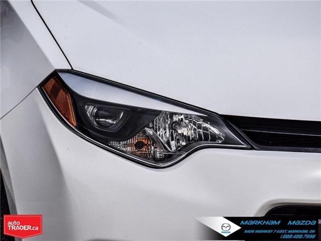 2014 Toyota Corolla  (Stk: Q190451A) in Markham - Image 8 of 26