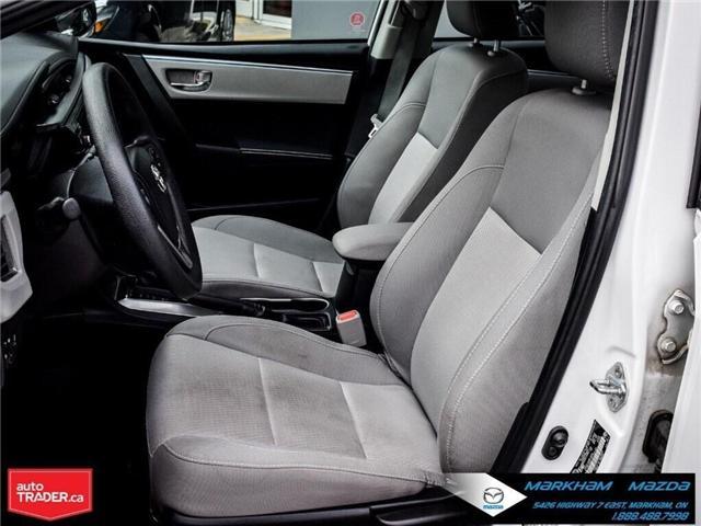 2014 Toyota Corolla  (Stk: Q190451A) in Markham - Image 12 of 26