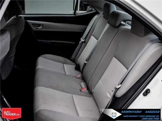 2014 Toyota Corolla  (Stk: Q190451A) in Markham - Image 13 of 26