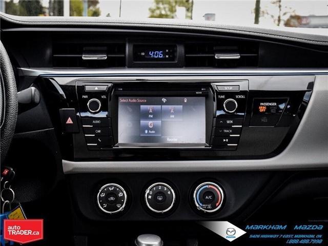 2014 Toyota Corolla  (Stk: Q190451A) in Markham - Image 15 of 26