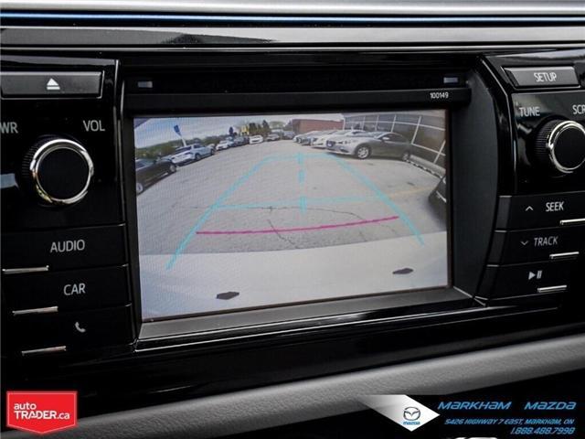 2014 Toyota Corolla  (Stk: Q190451A) in Markham - Image 17 of 26