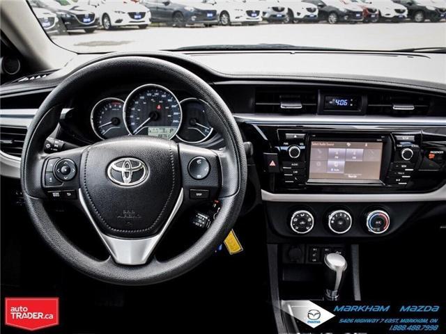 2014 Toyota Corolla  (Stk: Q190451A) in Markham - Image 21 of 26