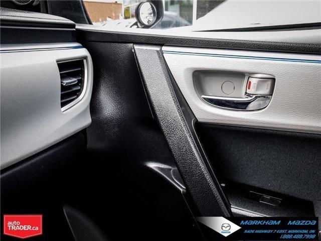 2014 Toyota Corolla  (Stk: Q190451A) in Markham - Image 25 of 26
