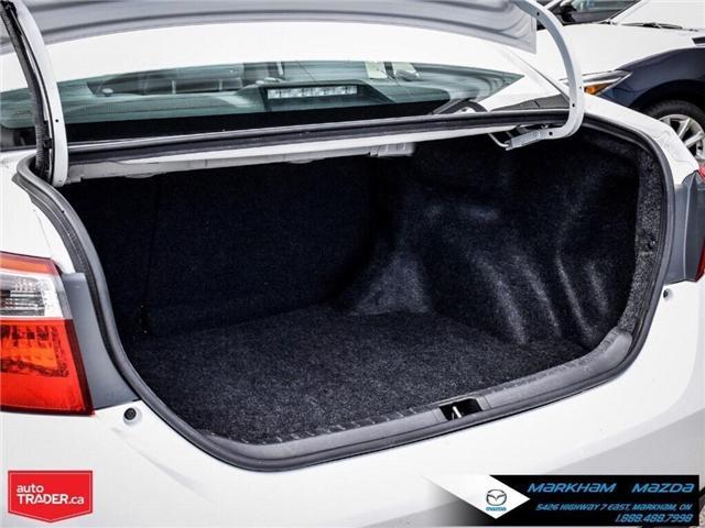 2014 Toyota Corolla  (Stk: Q190451A) in Markham - Image 26 of 26