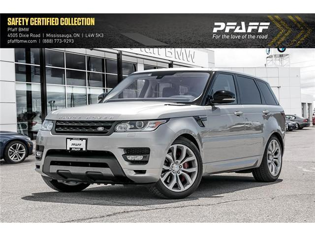 2016 Land Rover Range Rover Sport V8 Supercharged (Stk: 21368A) in Mississauga - Image 1 of 22