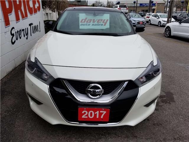2017 Nissan Maxima SL (Stk: 19-334) in Oshawa - Image 2 of 16