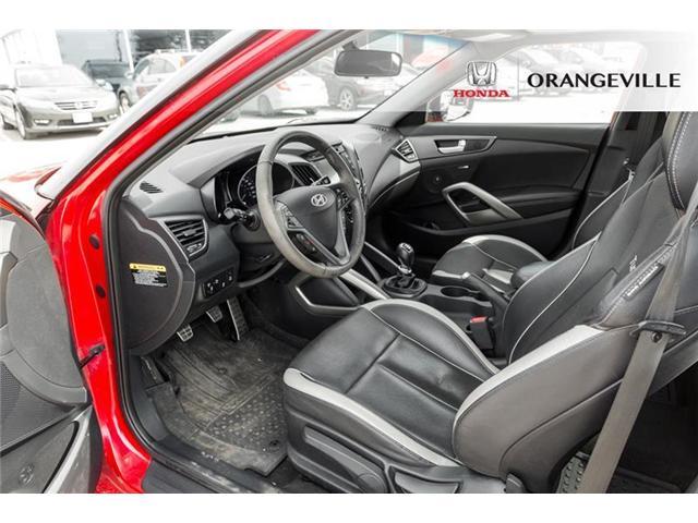2013 Hyundai Veloster Turbo (Stk: F19200A) in Orangeville - Image 8 of 20