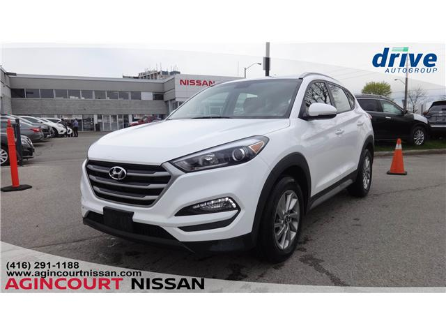 2018 Hyundai Tucson Premium 2.0L (Stk: U12515R) in Scarborough - Image 1 of 20