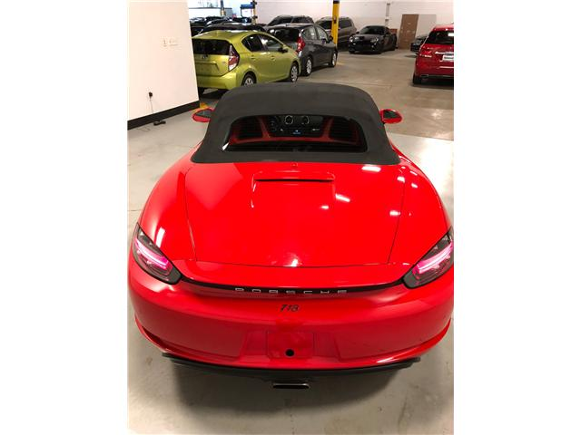 2017 Porsche 718 Boxster Base (Stk: N0227) in Mississauga - Image 10 of 21