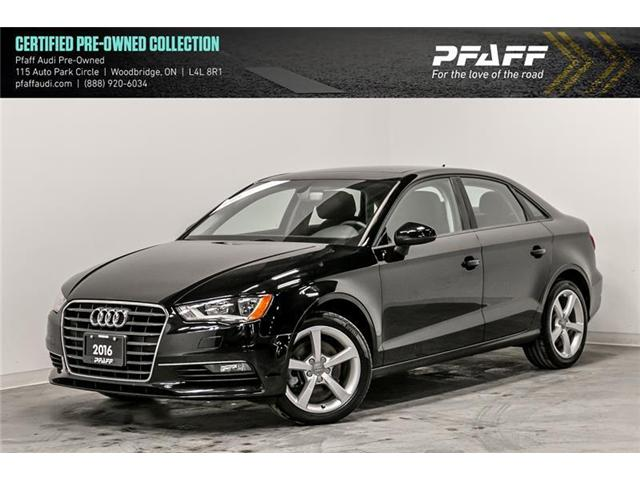 2016 Audi A3 1.8T Komfort (Stk: C6766) in Woodbridge - Image 1 of 22