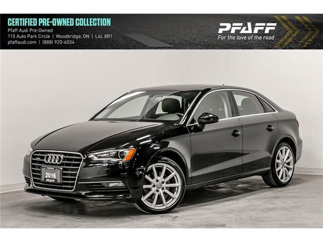 2016 Audi A3 2.0T Progressiv (Stk: C6799) in Woodbridge - Image 1 of 22