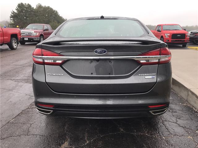 2018 Ford Fusion Titanium (Stk: 21803) in Pembroke - Image 4 of 9