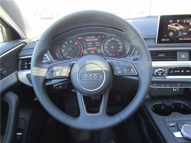 2019 Audi A4 45 Progressiv (Stk: 190323) in Regina - Image 17 of 35
