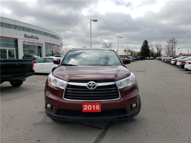 2016 Toyota Highlander XLE (Stk: 190362A) in Whitchurch-Stouffville - Image 2 of 14