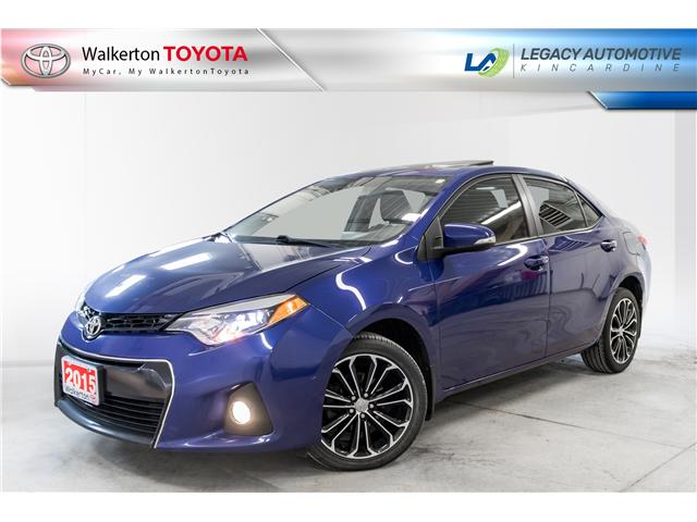 2015 Toyota Corolla S (Stk: 19206A) in Walkerton - Image 1 of 22