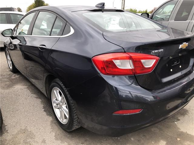 2016 Chevrolet Cruze LT Manual (Stk: ) in Kemptville - Image 2 of 12