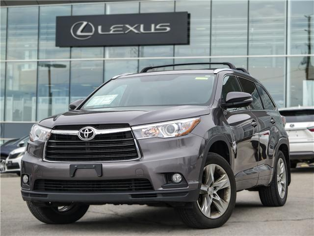 2014 Toyota Highlander Limited (Stk: 12096G) in Richmond Hill - Image 1 of 17