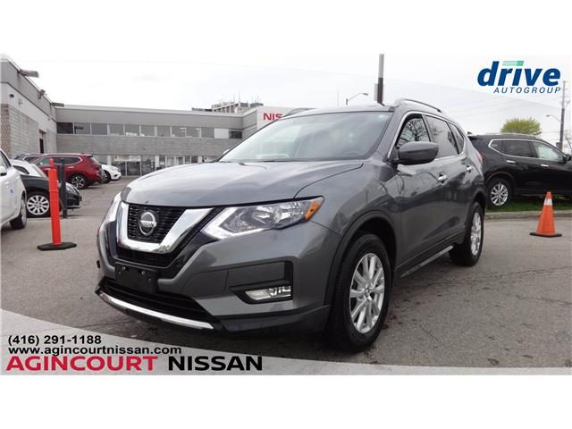 2018 Nissan Rogue SV (Stk: U12485A) in Scarborough - Image 1 of 19