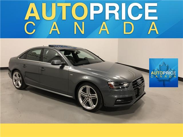 2015 Audi A4 2.0T Technik plus (Stk: F0329) in Mississauga - Image 1 of 27