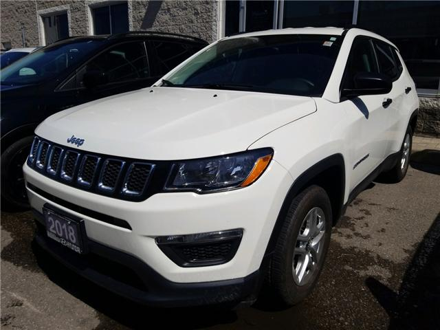2018 Jeep Compass Sport (Stk: P39609A) in Mississauga - Image 1 of 14