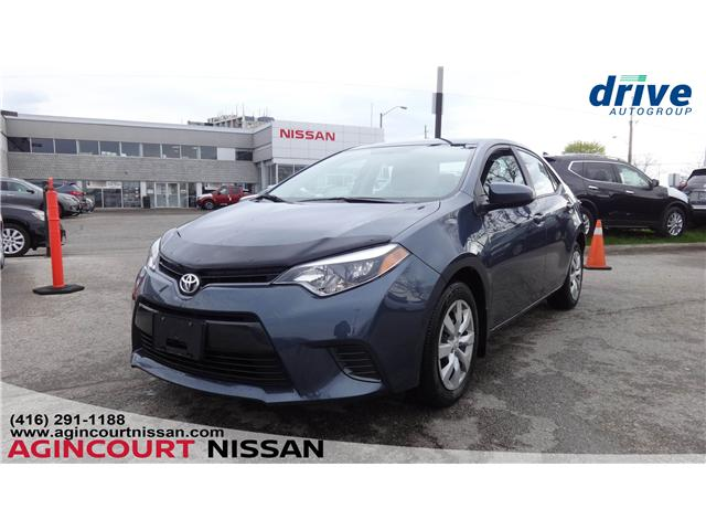2015 Toyota Corolla LE (Stk: KL357804A) in Scarborough - Image 1 of 18