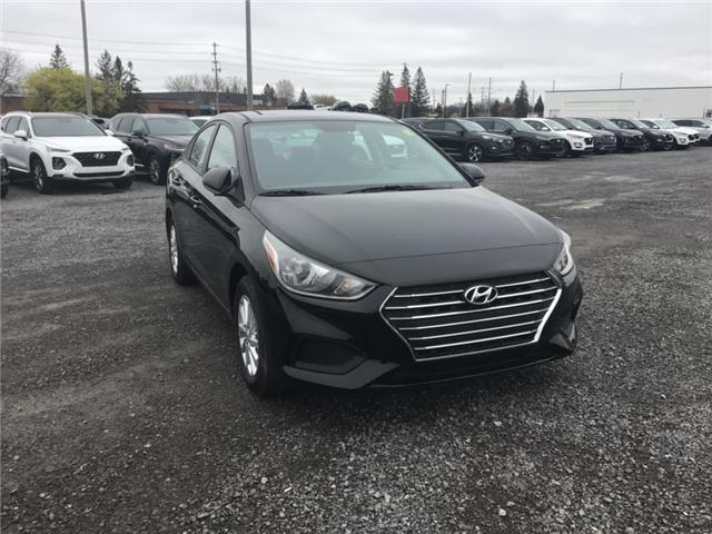 2019 Hyundai Accent Preferred (Stk: R95129) in Ottawa - Image 1 of 11