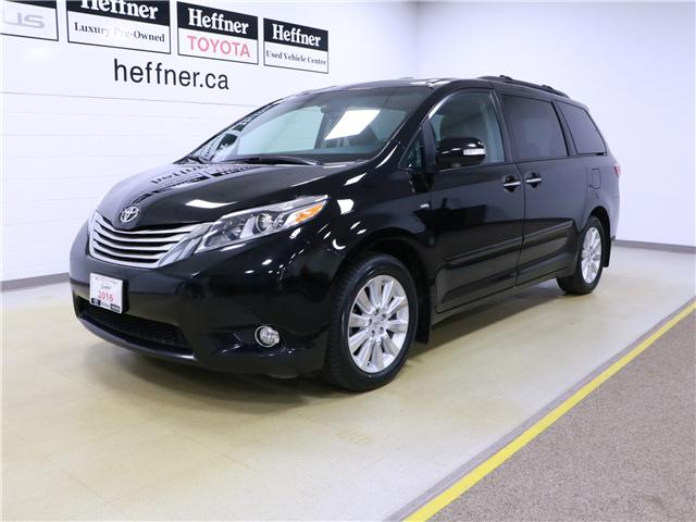 2016 Toyota Sienna XLE 7 Passenger (Stk: 195359) in Kitchener - Image 1 of 33