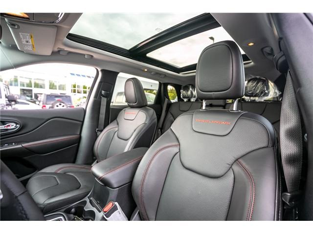 2019 Jeep Cherokee Trailhawk (Stk: K430547) in Abbotsford - Image 22 of 25