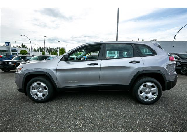 2019 Jeep Cherokee Sport (Stk: K434478) in Abbotsford - Image 4 of 23