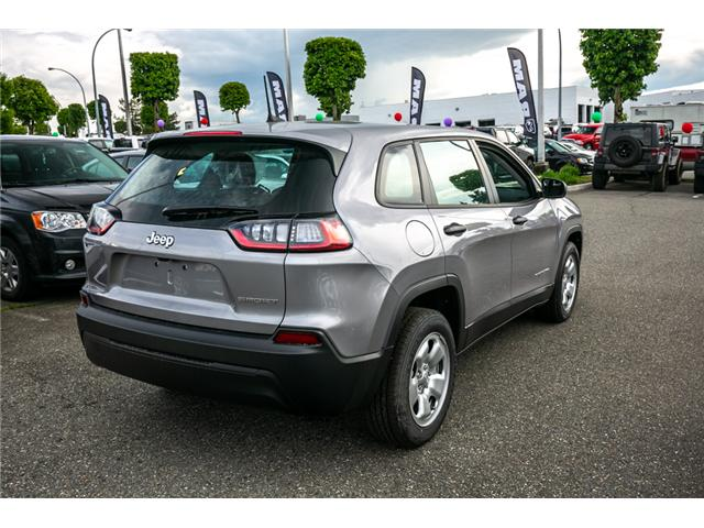 2019 Jeep Cherokee Sport (Stk: K434478) in Abbotsford - Image 7 of 23