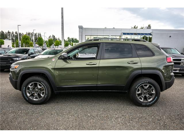 2019 Jeep Cherokee Trailhawk (Stk: K440878) in Abbotsford - Image 4 of 24