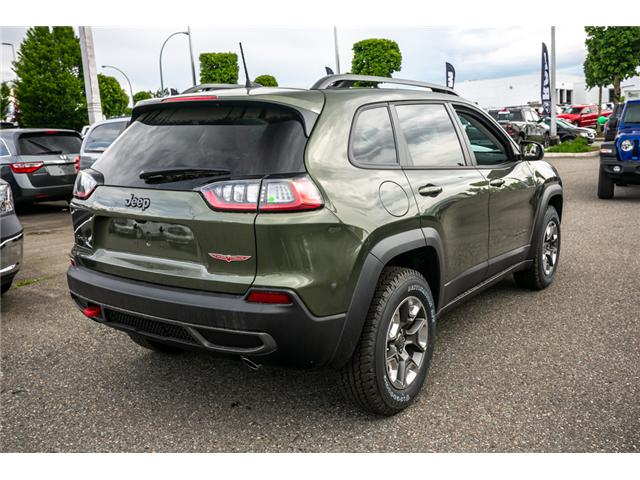 2019 Jeep Cherokee Trailhawk (Stk: K440878) in Abbotsford - Image 7 of 24