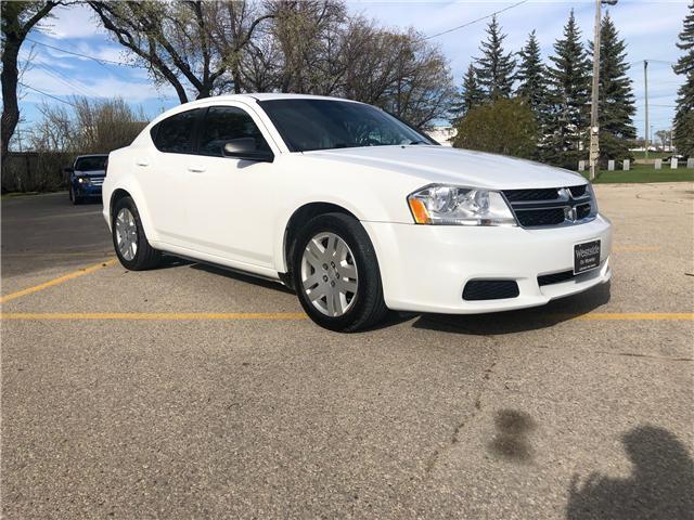 2013 Dodge Avenger Base (Stk: ) in Winnipeg - Image 1 of 19
