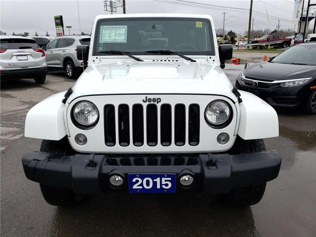 2015 Jeep Wrangler Unlimited Sahara (Stk: 0191904A) in Newmarket - Image 5 of 30