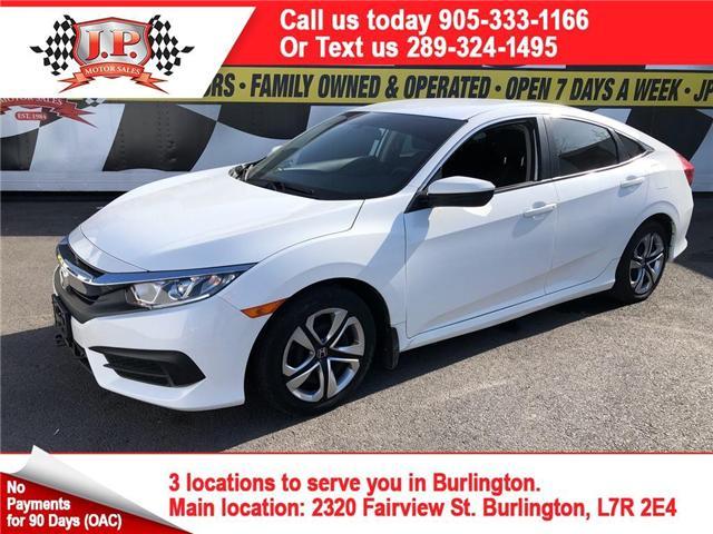 2017 Honda Civic LX (Stk: 46853) in Burlington - Image 1 of 16
