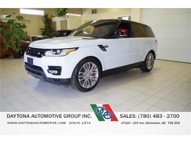 2016 Land Rover Range Rover Sport V8 Supercharged (Stk: 8230) in Edmonton - Image 1 of 15