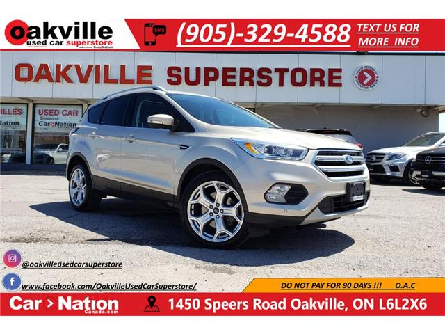 2017 Ford Escape TITANIUM | LEATHER | PANO | BLINDSPOT | LOADED (Stk: DR554A) in Oakville - Image 1 of 22