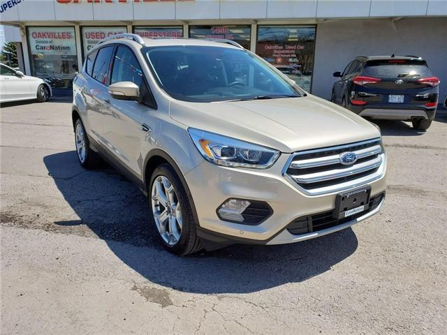 2017 Ford Escape TITANIUM | LEATHER | PANO | BLINDSPOT | LOADED (Stk: DR554A) in Oakville - Image 2 of 22
