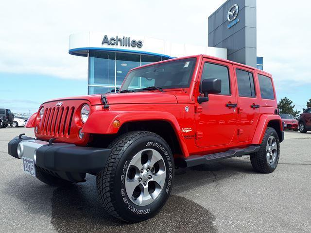 2015 Jeep Wrangler Unlimited Sahara (Stk: A9525A) in Milton - Image 1 of 16