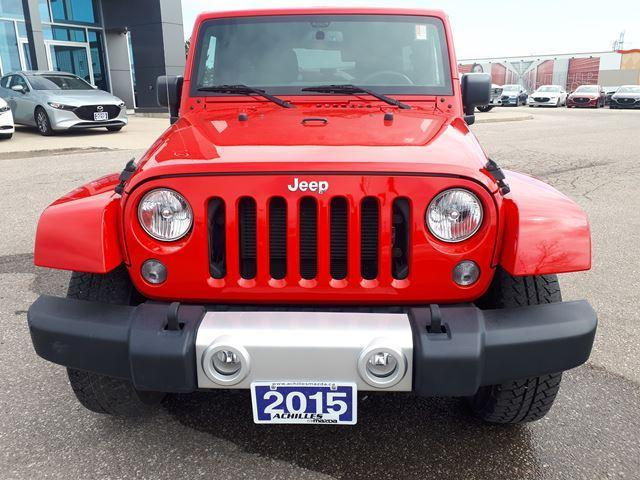 2015 Jeep Wrangler Unlimited Sahara (Stk: A9525A) in Milton - Image 2 of 16