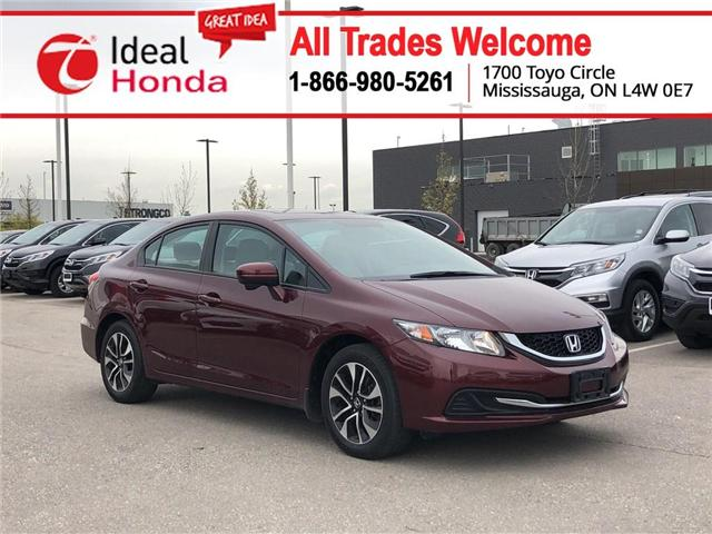 2015 Honda Civic EX (Stk: I190879A) in Mississauga - Image 1 of 20
