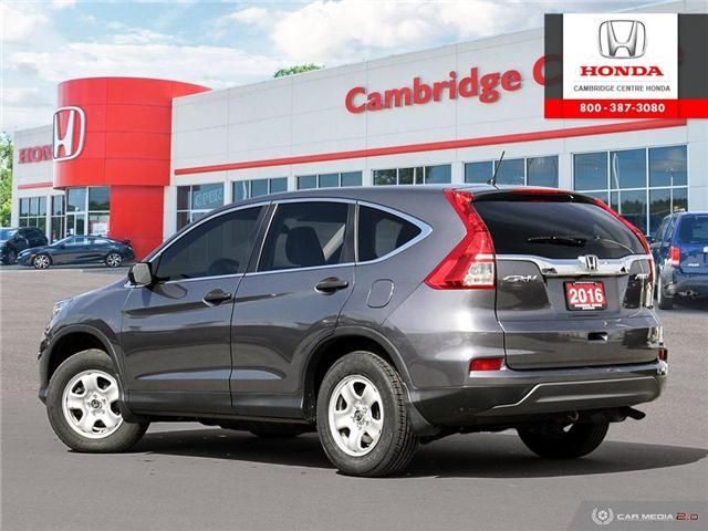 2016 Honda CR-V LX (Stk: 19180B) in Cambridge - Image 4 of 27